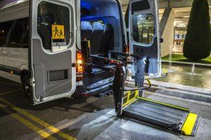 Wheelchair minibus airport mallorca